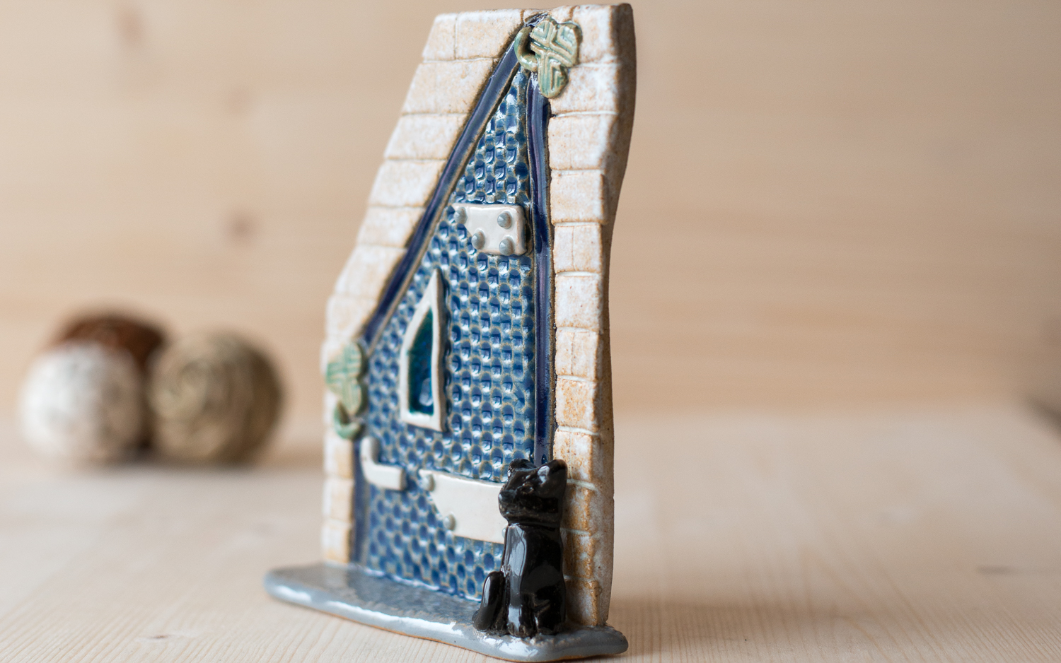 ST Pottery Fairy Door
