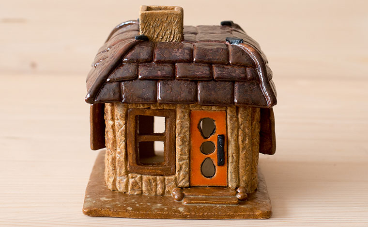 ST Pottery Fairy House